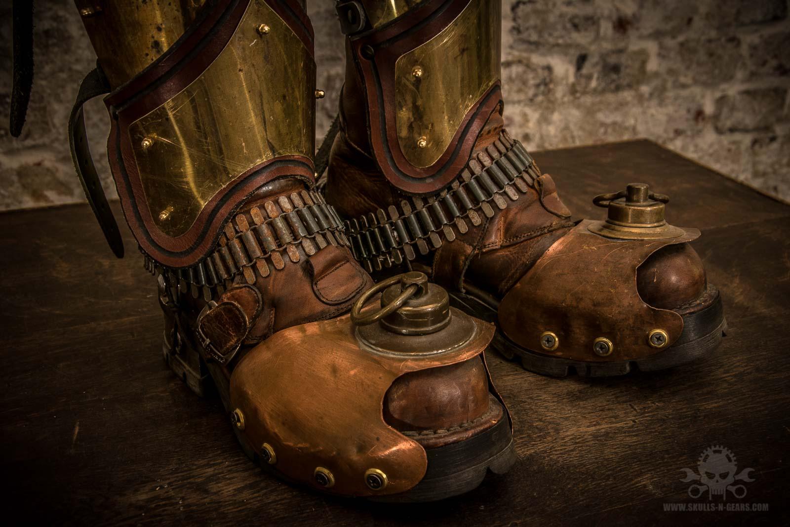 Steampunk Stiefel