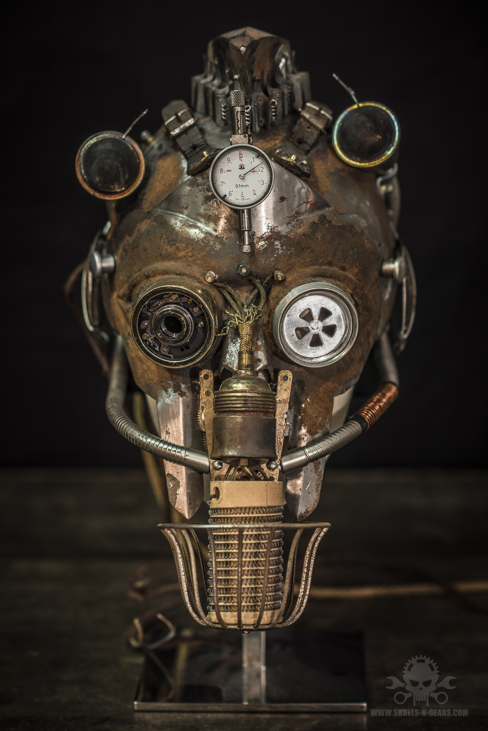 Steampunk Warrior helmet