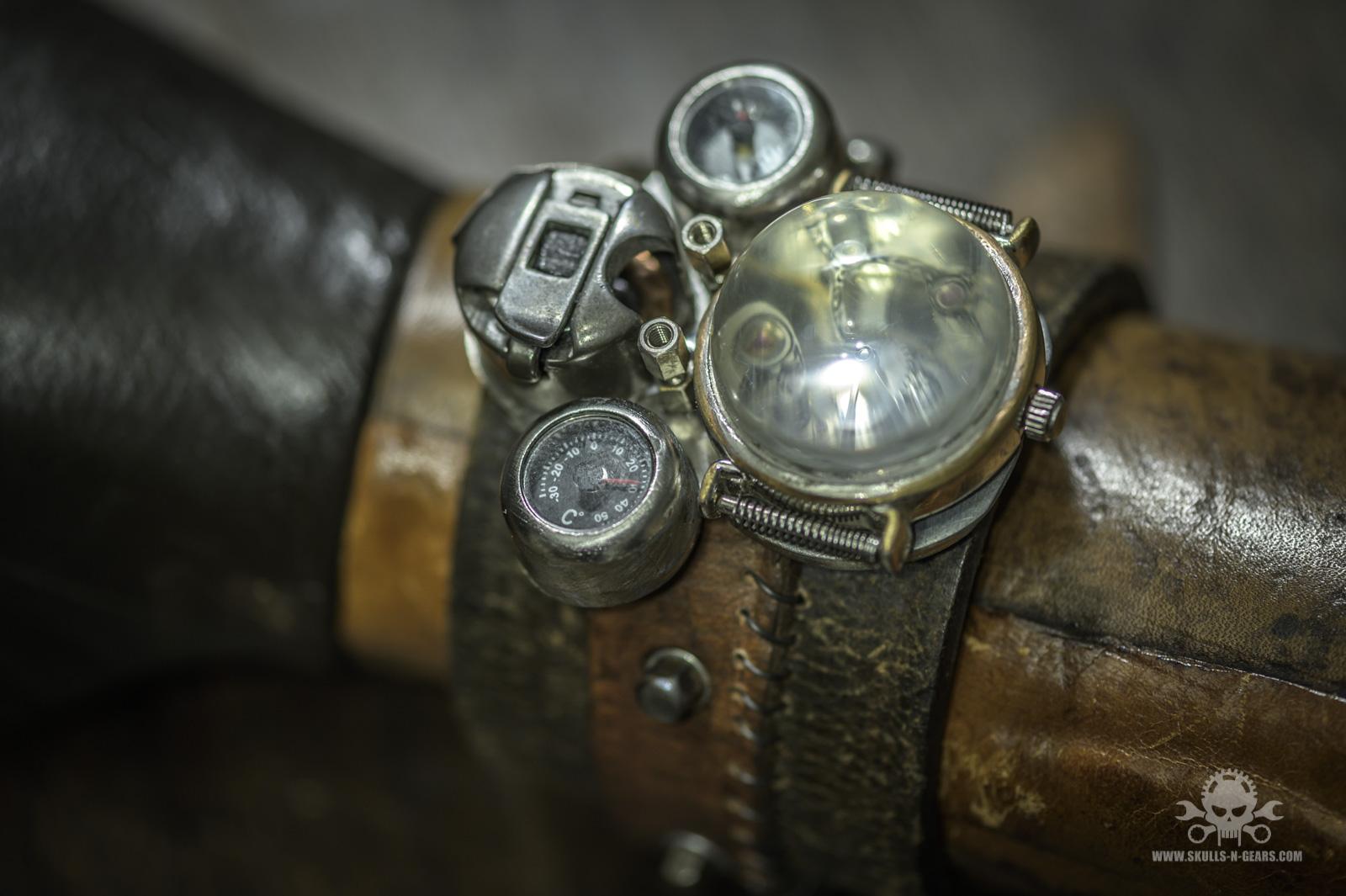 Steampunk Uhr [010030012] - 32