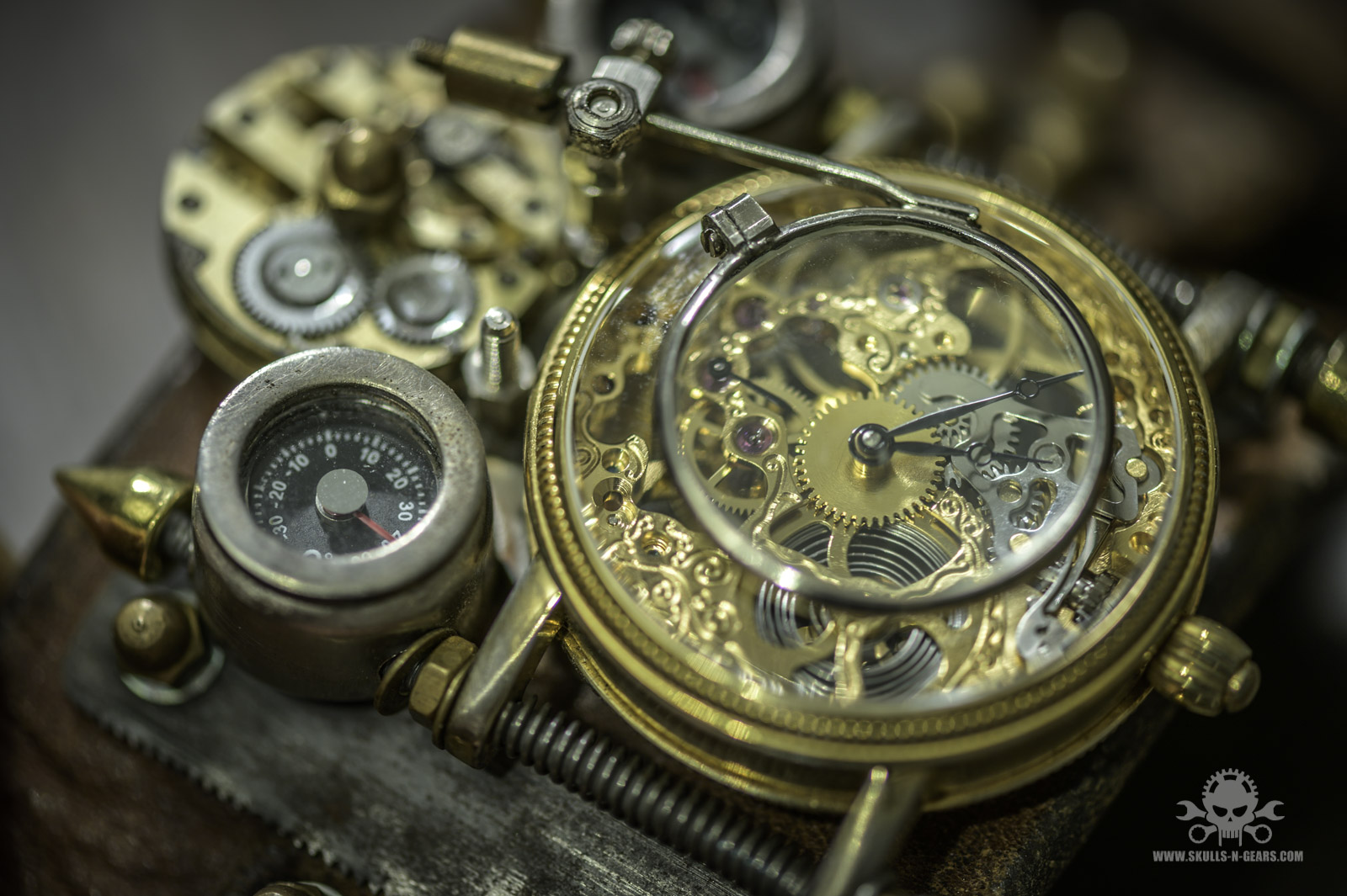 Steampunk Uhr [010030014] - 20