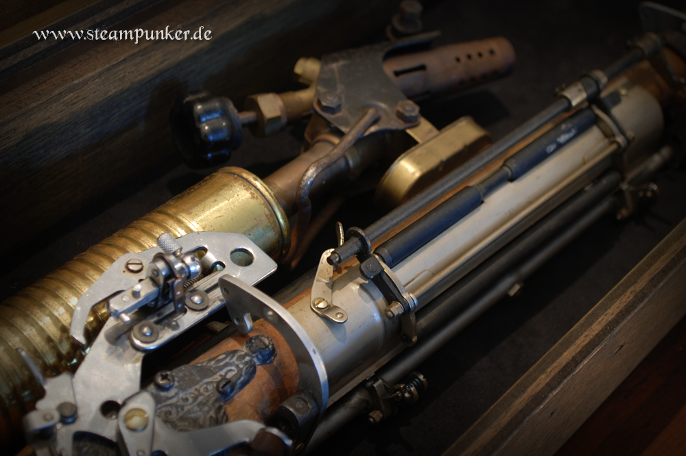 Steampunk Rifle