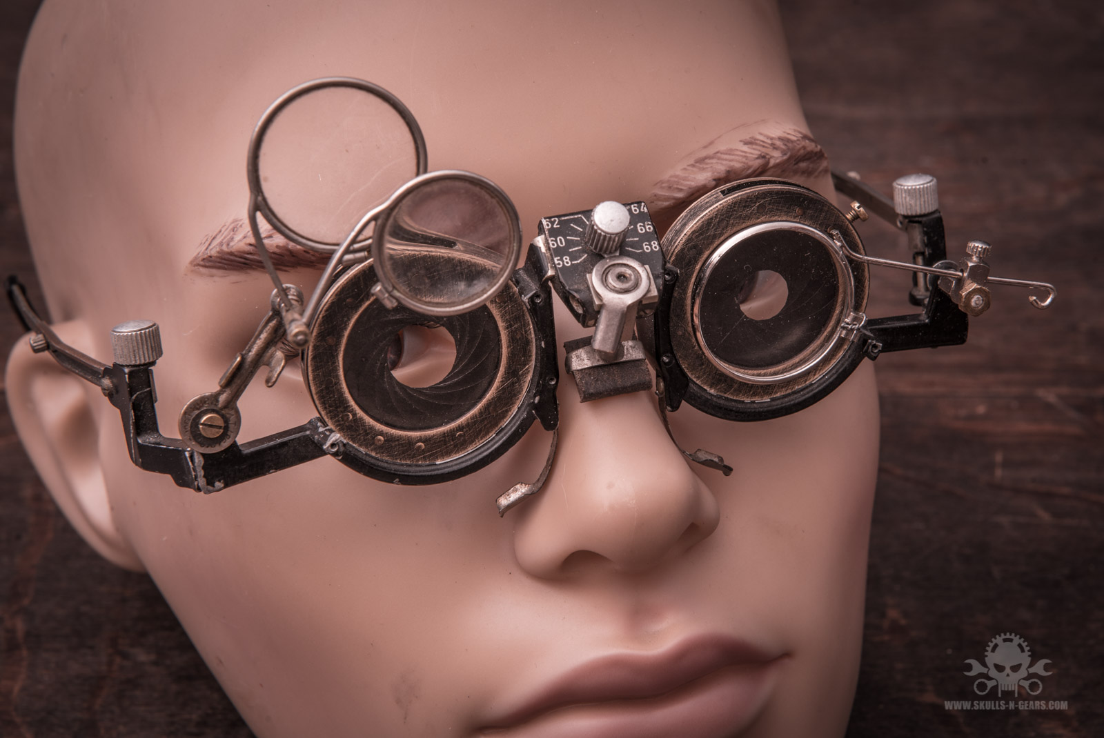 Steampunk Brille [020030042]