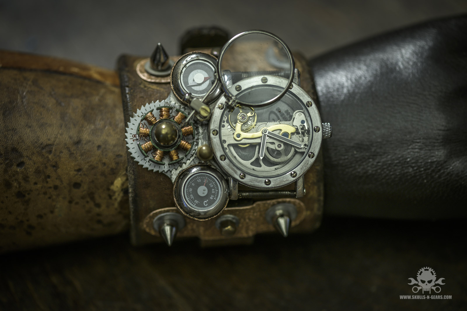Steampunk Uhr [010030017] -6