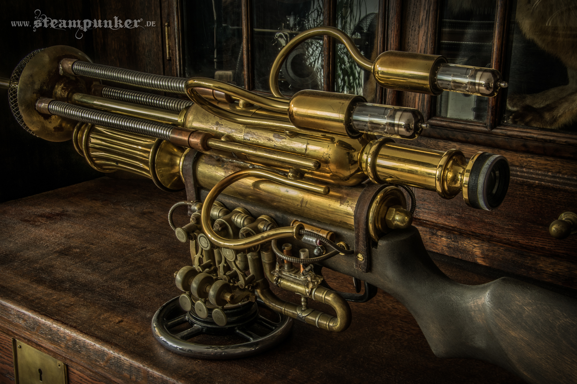 Steampunk Flintgun