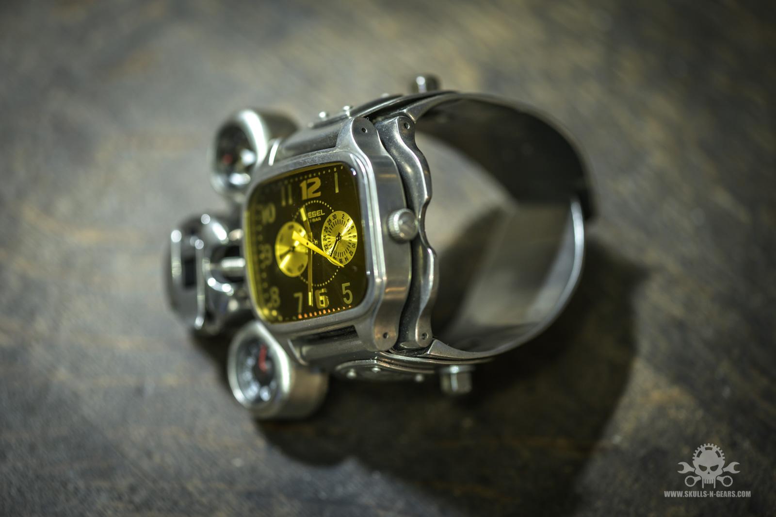 Steampunk Uhr [010030016] -6