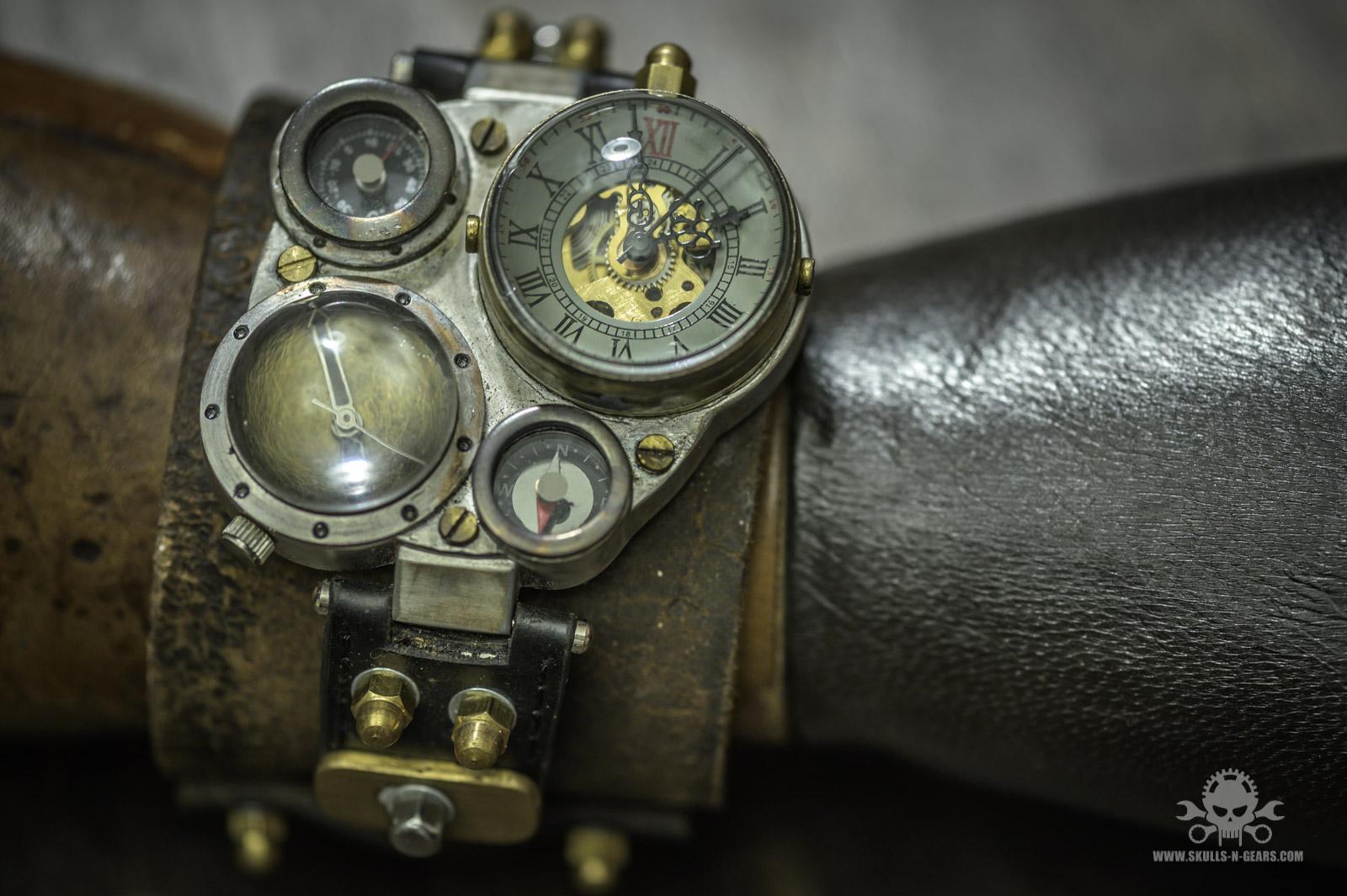 Steampunk Uhr [010030010] -43