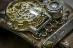 Steampunk Uhr [010030018] -18