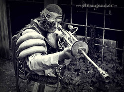 Steampunk Warrior