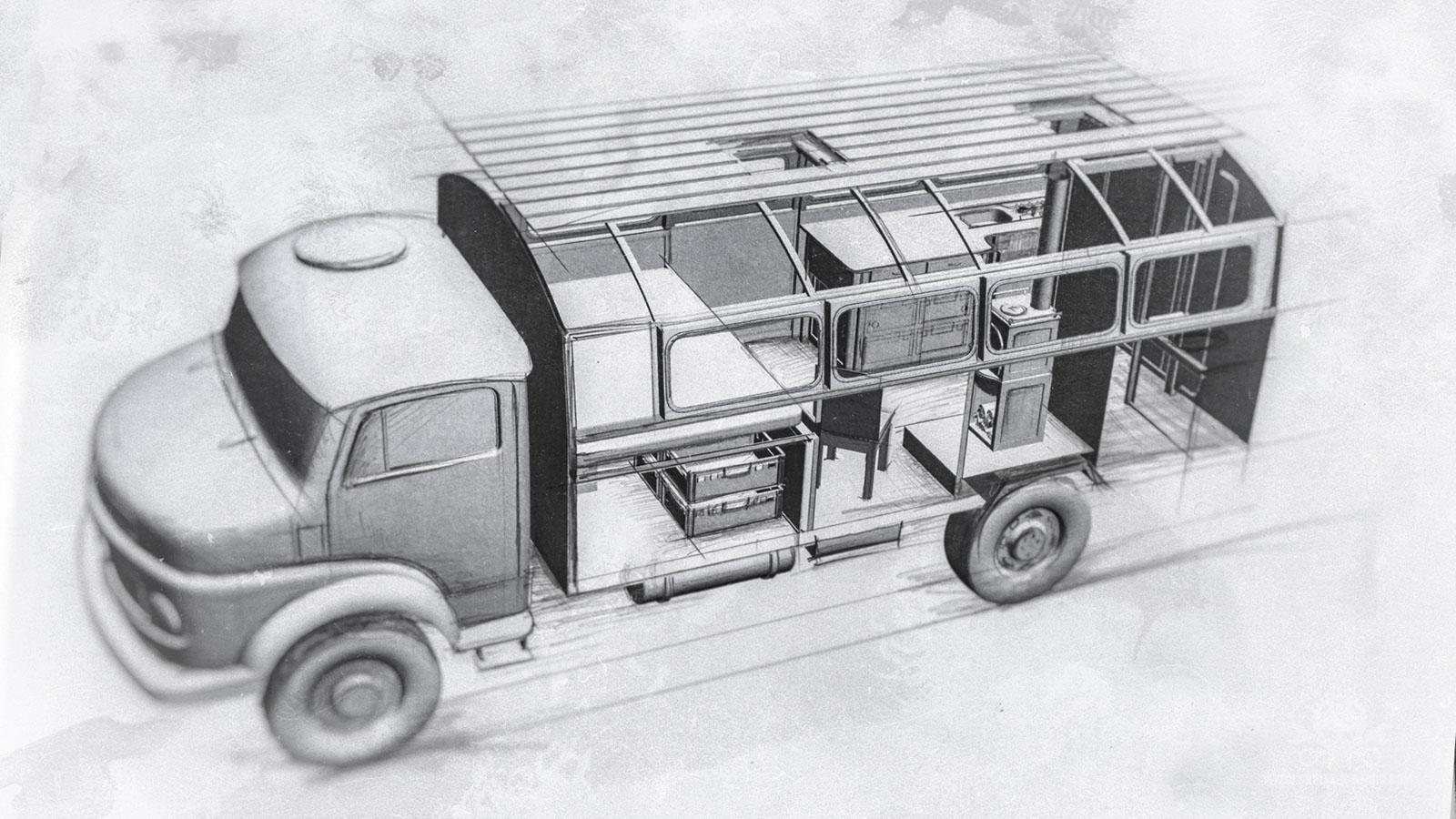 Mercedes LA 710-32