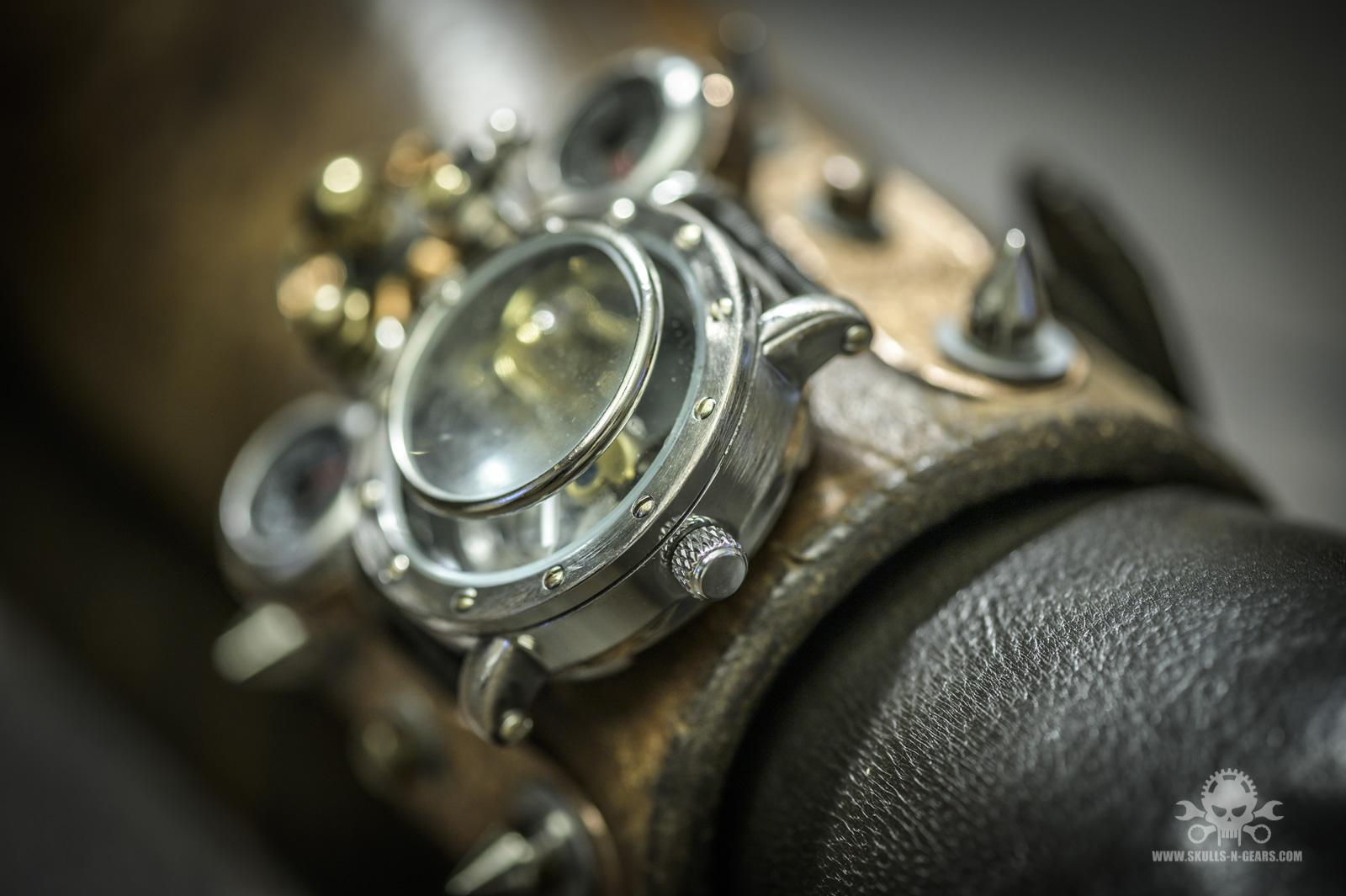 Steampunk Uhr [010030017] -11