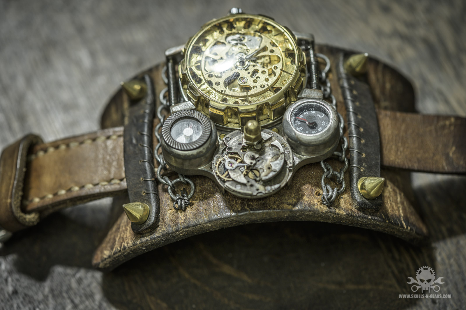 Steampunk Uhr [010030018] -24