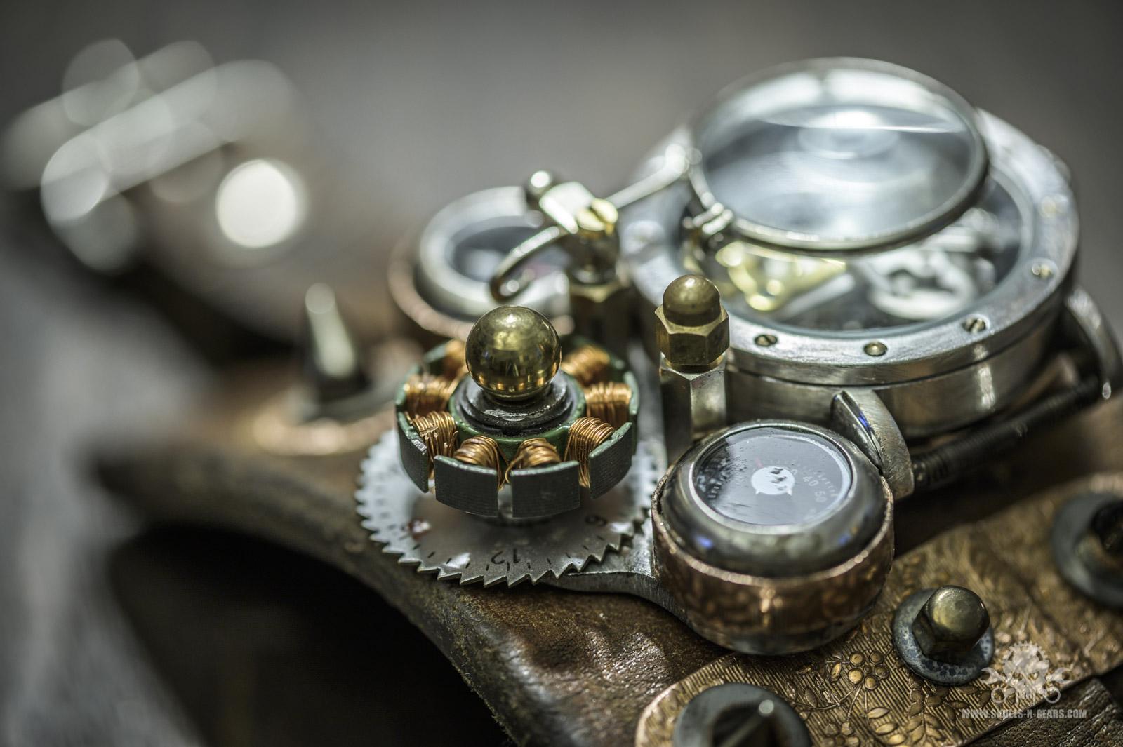 Steampunk Uhr [010030017] -13