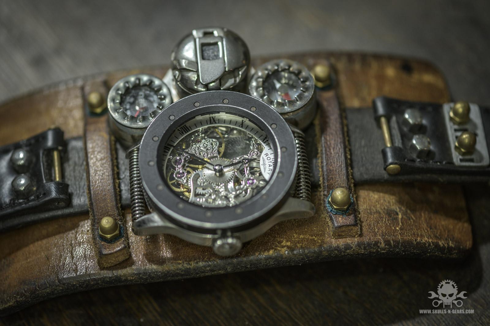 Steampunk Uhr [010030015] -13