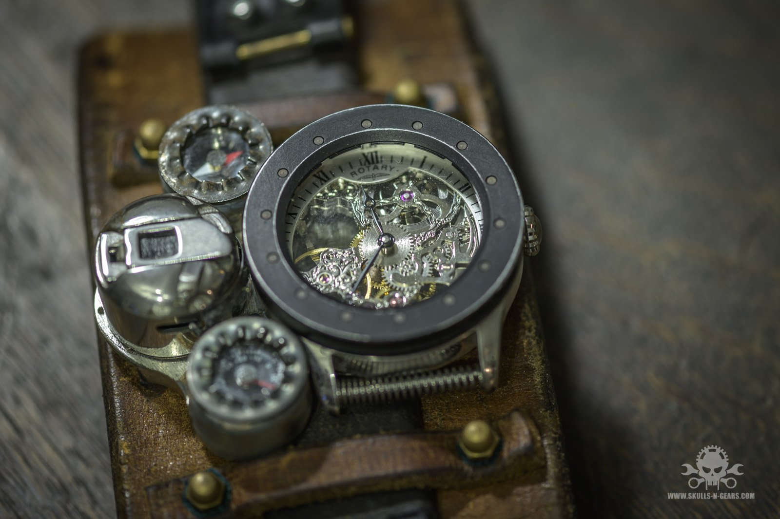 Steampunk Uhr [010030015] -12