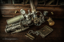 Steampunk Ghost Hunter