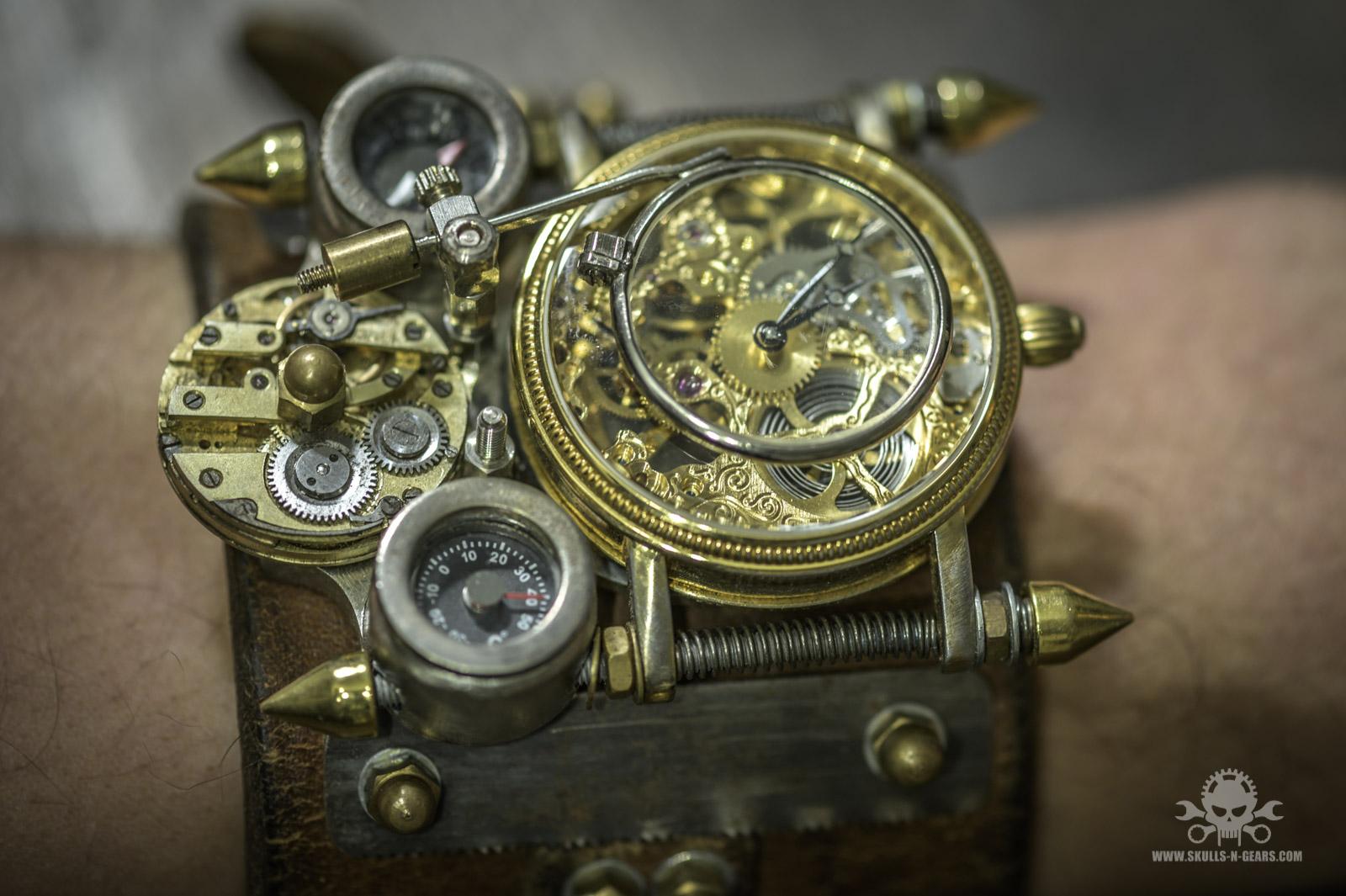 Steampunk Uhr [010030014] -23