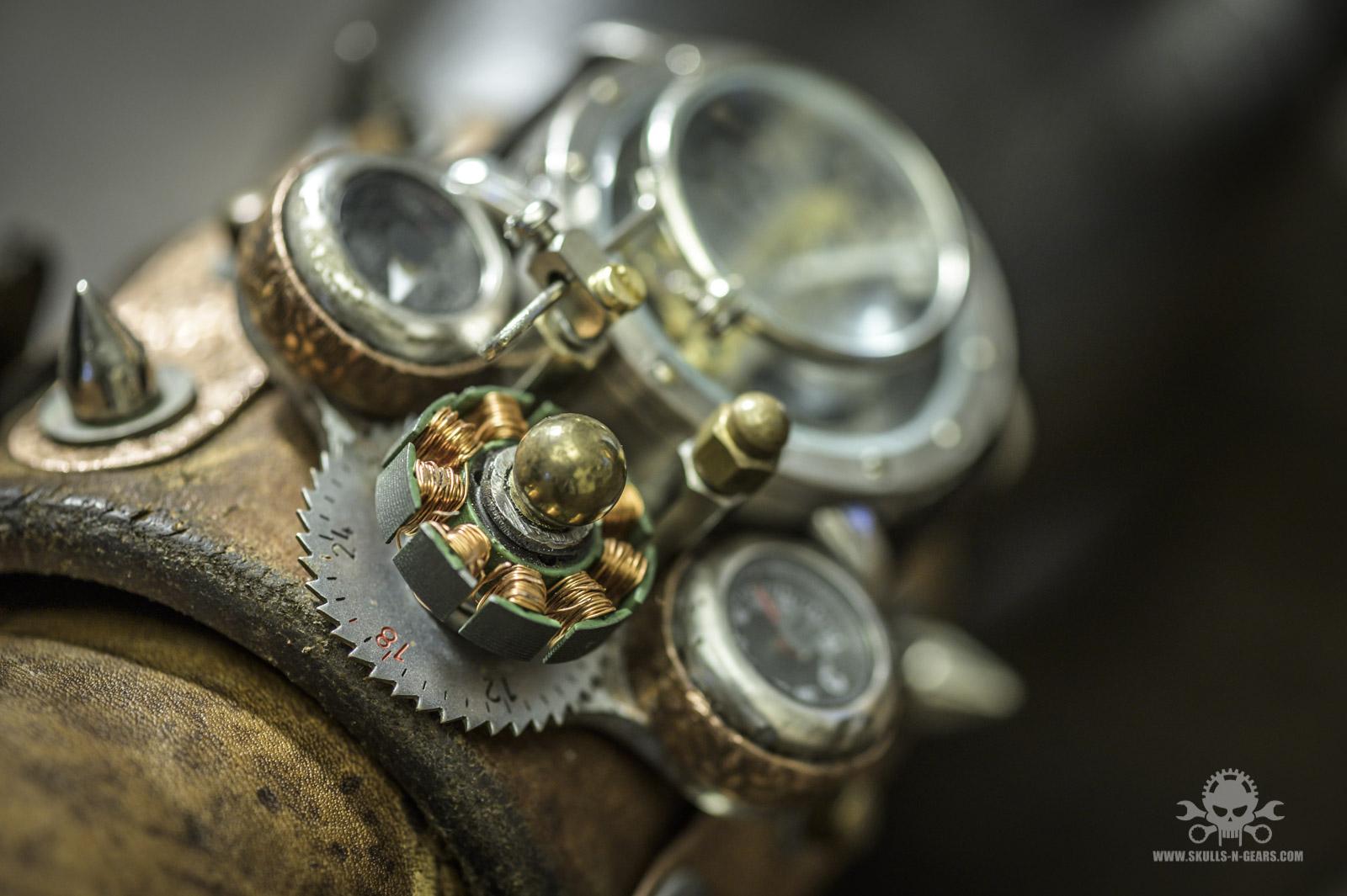 Steampunk Uhr [010030017] -8