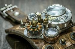 Steampunk Uhr [010030017] -14