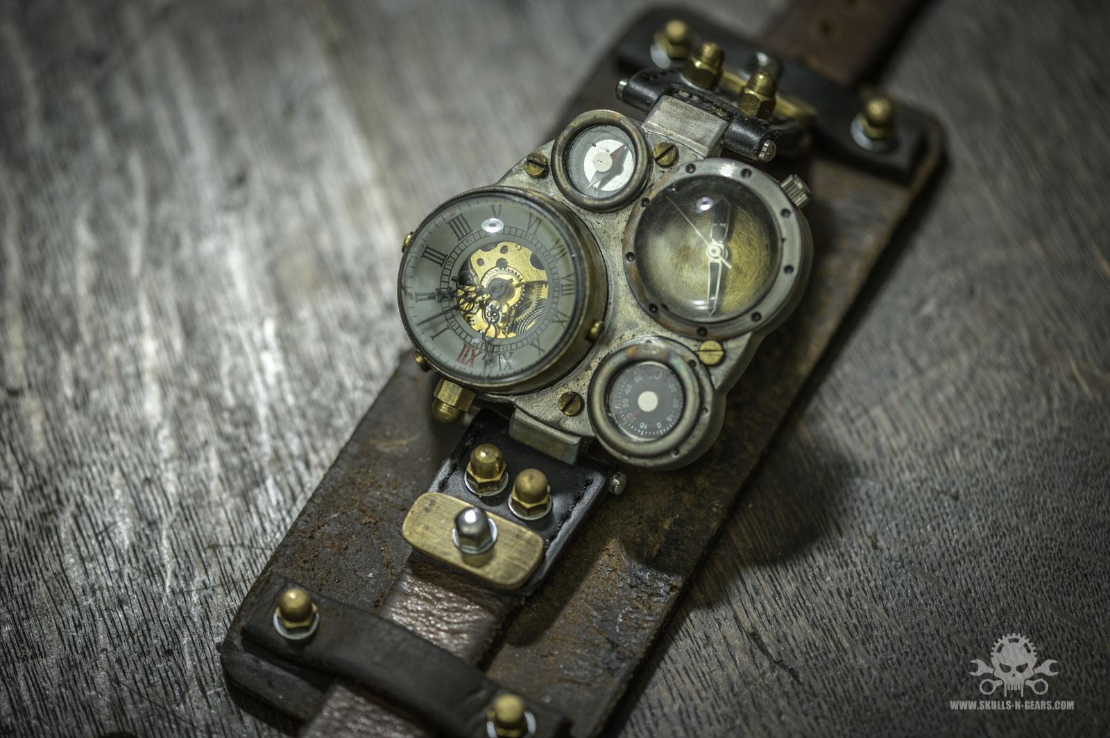 Steampunk Uhr [010030010] -42
