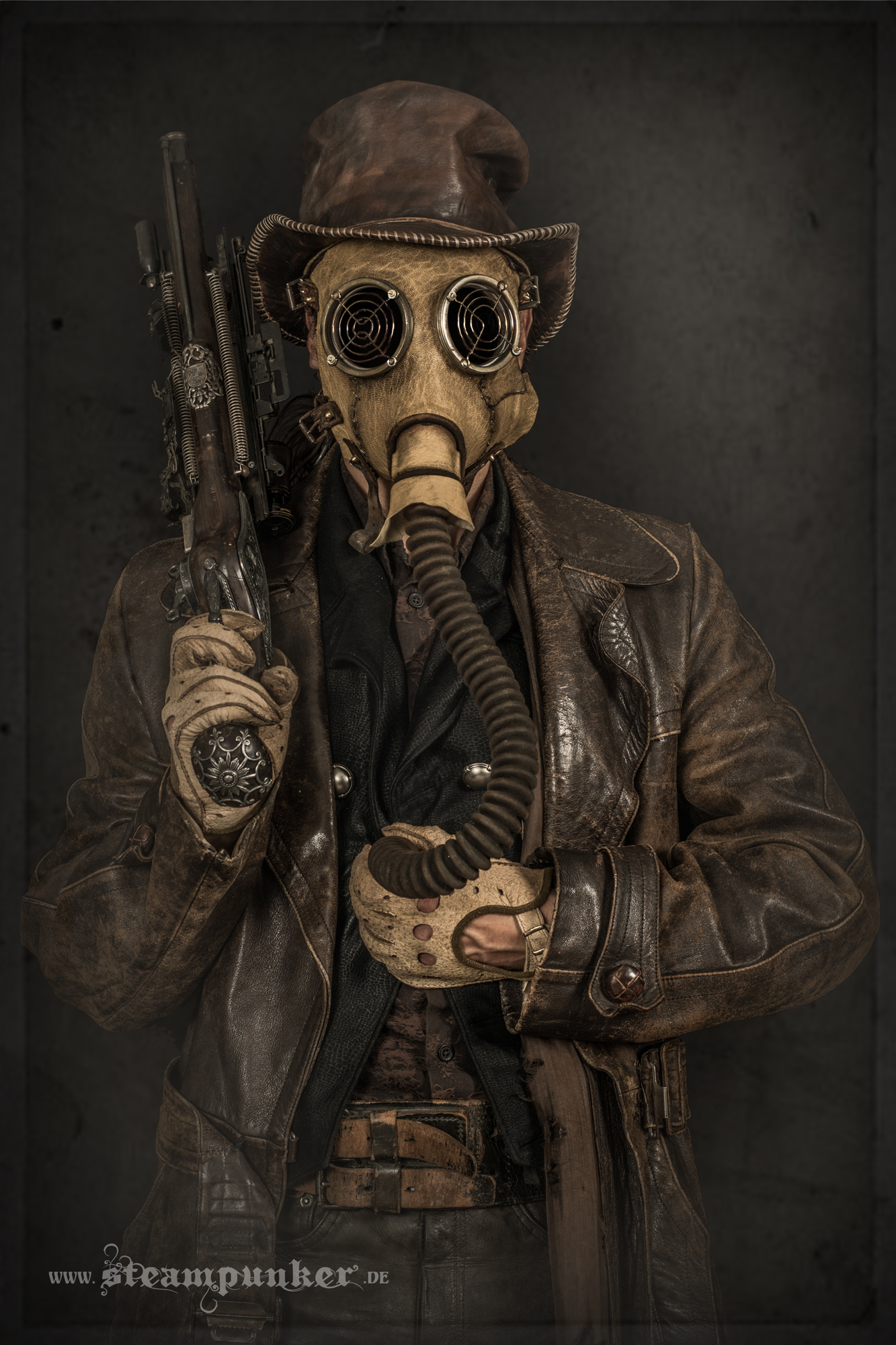 Steampunk Leather Clothing