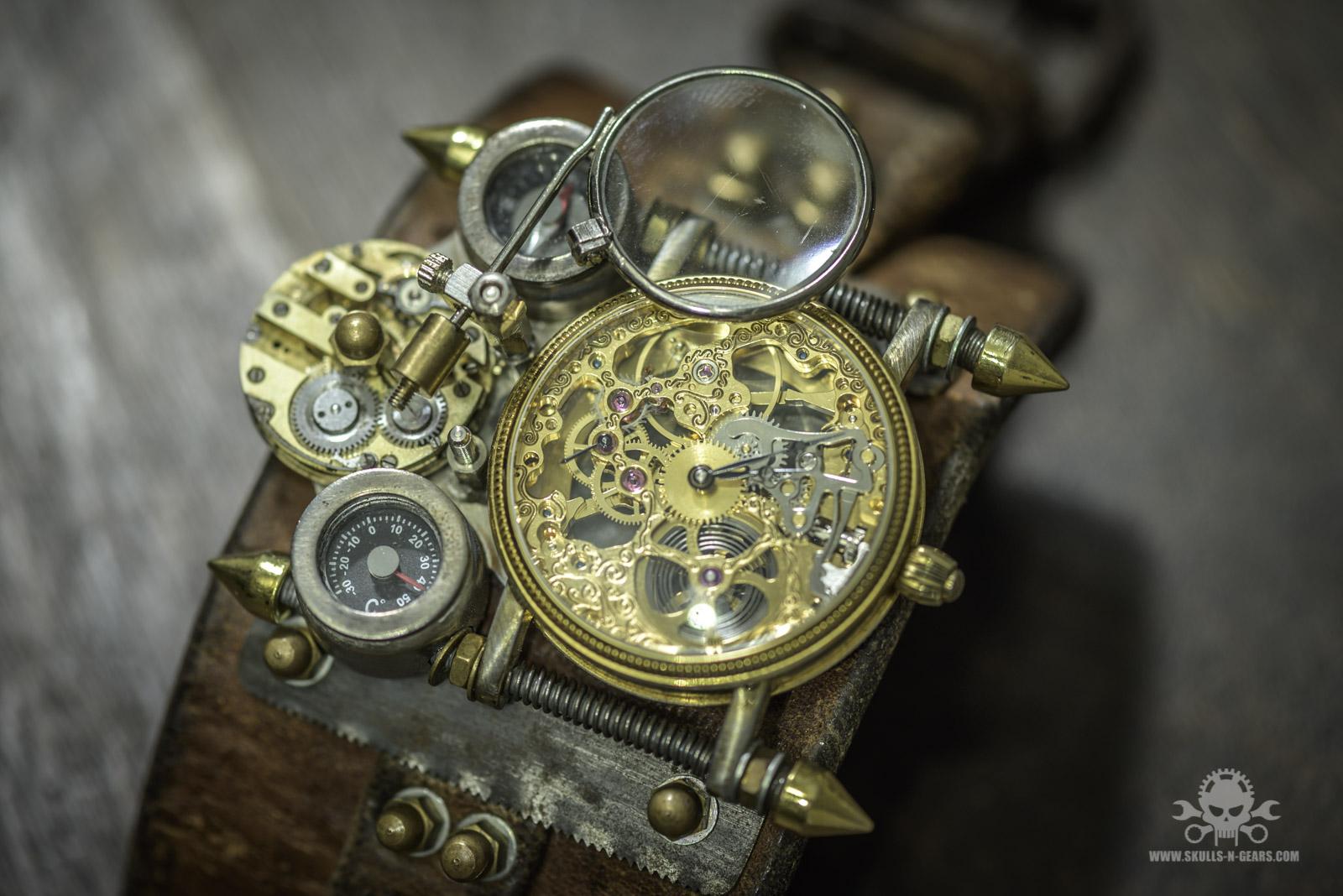 Steampunk Uhr [010030014] -26