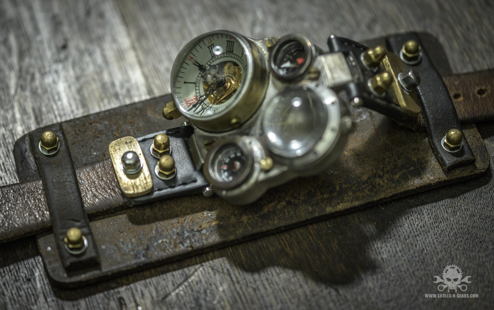Steampunk Uhr [010030010] -40