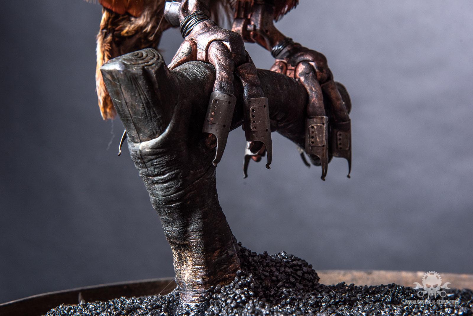 Steampunk Papagei-2