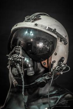 Kampfjet Piloten Helm