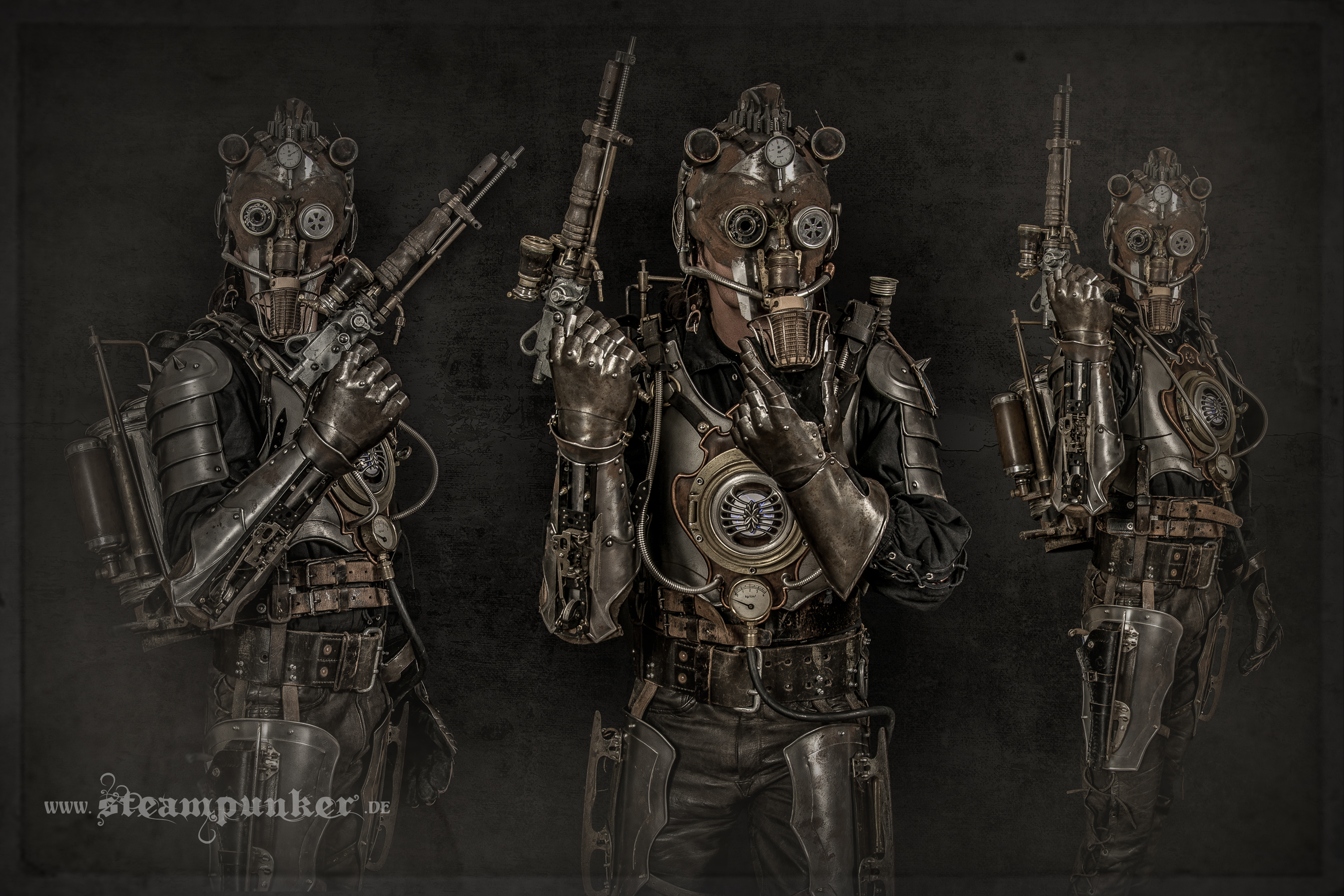 Steampunk Warrior - Rüstung