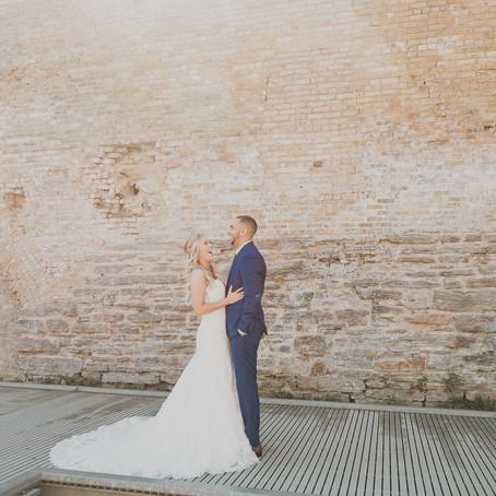 Ashley + Taylor: A Breathtaking Budget-Friendly Wedding