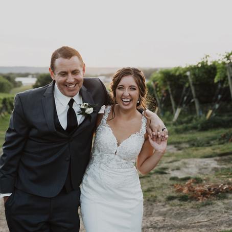 Maria + Matt: Wedded at a Winery