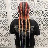 Braiding Extensions Mermaid braids Gold Coast