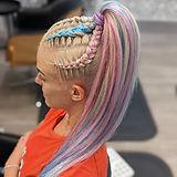 Mermaid braids braiding gold coast