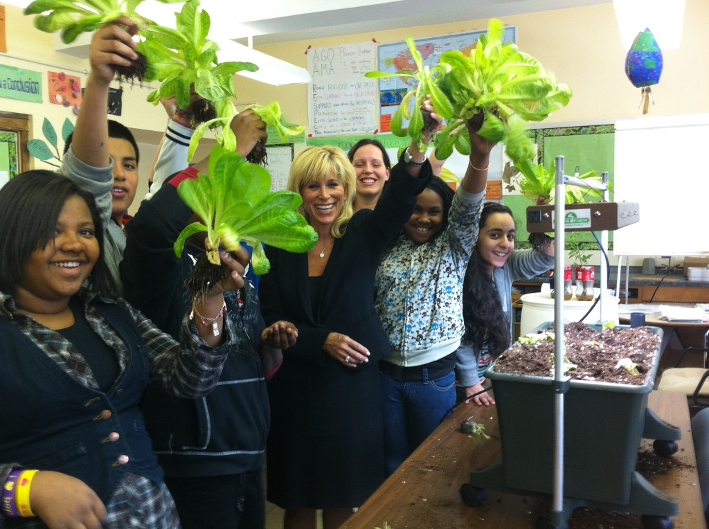 Earth Day Initiative Organic Indoor Learning Garden