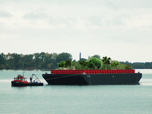 Happy 4th of July! Swale: A Floating Food Forest Coming To NYC Is A Birthday Gift On America's I