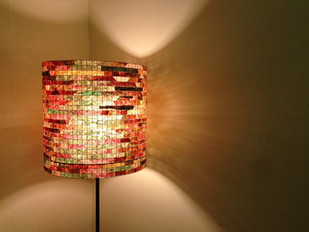 "Made in New York: ""Yeah, Of Course, I Knew Those Gorgeous Lamps Are Made From Used Coffee Filte"
