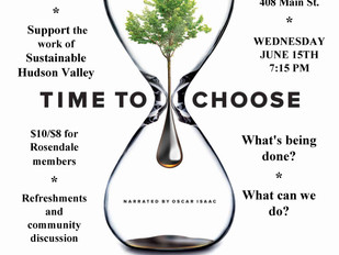 """""""Time to Choose"""" Doc Shows Light at the End of the Climate Change Tunnel"""