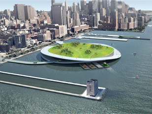 The Green Loop: Present Architecture's Proposed Plan to Create Compost Islands in NYC is Brilliant,