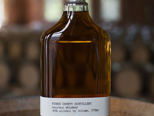 Made in New York:  Bourbon and Moonshine from Kings County Distillery in Brooklyn, NYC