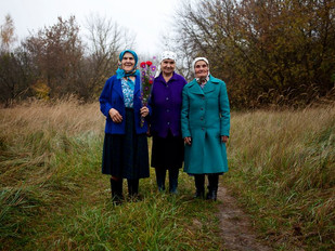 The Babushkas of Chernobyl: These Tough Old Ladies Will Only Be Carried Out Feet First