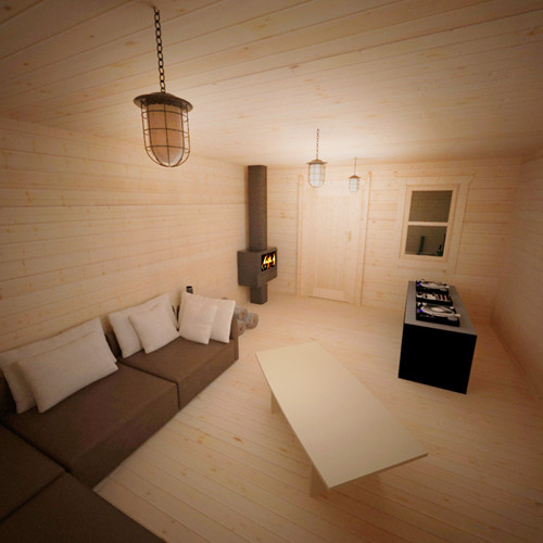 Lounge in Zombie Log Cabin.jpg