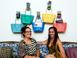 Servadelic Spotlight.....Trash to Treasure: How the Reyes Sisters are Making Beautiful Products out
