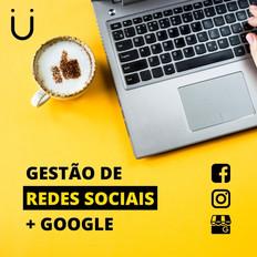 Gestão de Redes Sociais + Google