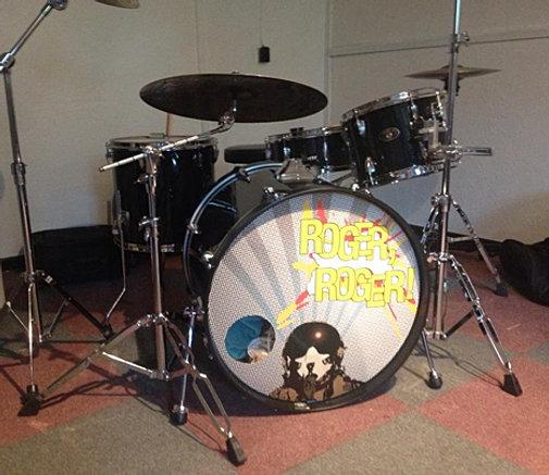 rock drummers custom bass drum heads custom printed drum skins. Black Bedroom Furniture Sets. Home Design Ideas