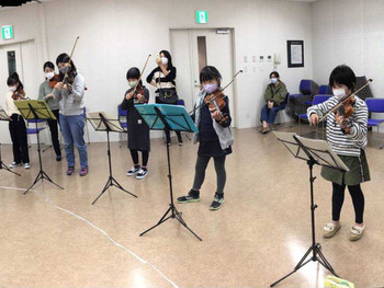 世界子ども音楽祭カウントダウン! 駒ヶ根子どもオーケストラ