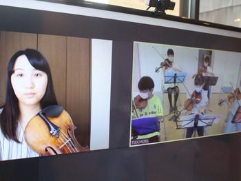 大槌子どもオーケストラ オンラインで教えて頂いている佐藤さんからのメッセージ