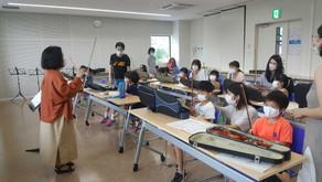 駒ヶ根子どもオーケストラ 2年ぶりの新メンバーを迎えて