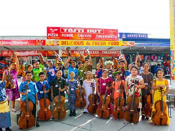 世界子ども音楽祭 世界の子どもたち ニュージーランド Sistema Aotearoa