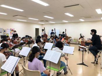 相馬子どもオーケストラ 久しぶりの先生合奏