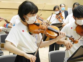 《相馬子どもオーケストラ 初めてのコンサートミストレスに挑戦》